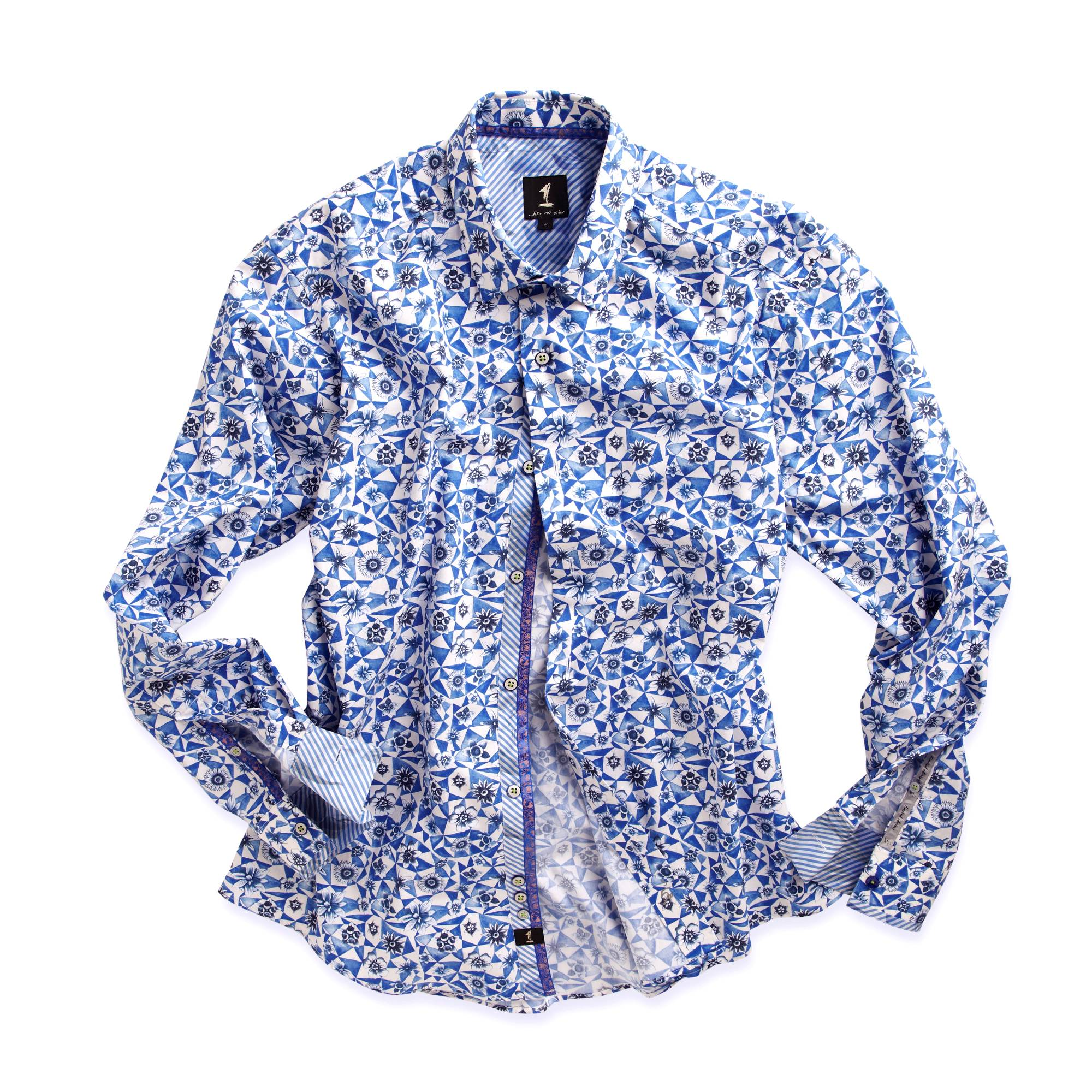 Shirt design of 2014 - Flora Shirt This Print Forms The Central Theme To Our Spring Summer 2014 Collection The Geo Floral Design Is Easy To Wear With Denim Creating A Relaxed