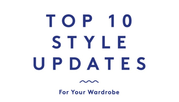 Top 10 Style Updates For Your Wardrobe