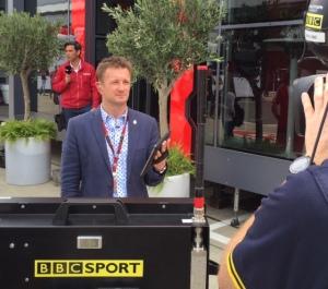 Allan McNish at the Formula 1 2015 Season