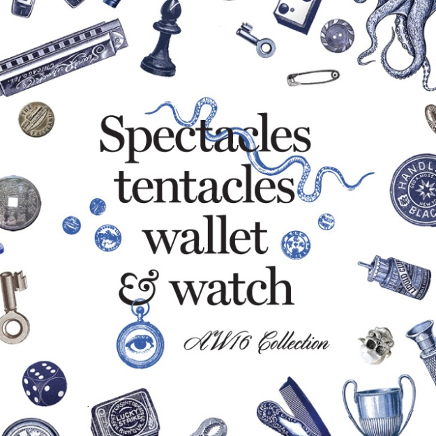 Spectacles Tentacles Wallet & Watch AW16 Collection